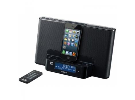 sony xdr ds16ipn dab dab fm radio speaker dock for ipod iphone iphone dealbuyer uk ltd. Black Bedroom Furniture Sets. Home Design Ideas