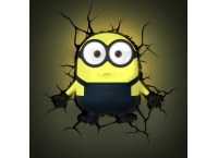 Despicable Me Minions 3D Wall Light (Bob)