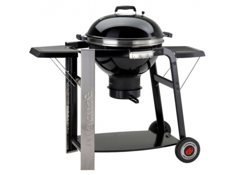 landmann 31346 58cm black pearl select charcoal barbecue. Black Bedroom Furniture Sets. Home Design Ideas