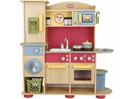 Little Tikes Premium Wood Cook Creations Kitchen Playset