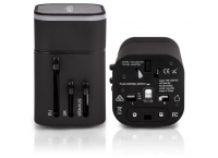 Veho VAA-300-TA2 Universal World Travel Plug with 2 Port USB 5V 3.2A