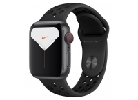Apple Watch Nike Series 5 40mm Space Grey Aluminium Case Anthracite/Black Nike Sport Band (GPS + Cellular) - MX3D2B/A
